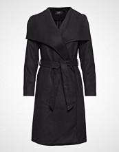 Only Onlphoebe Drapy Coat Cc Otw Ullfrakk Frakk Svart ONLY