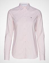 Gant Stretch Oxford Banker Shirt Langermet Skjorte Rosa GANT