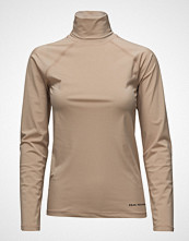 Peak Performance W Sense Rn T-shirts & Tops Long-sleeved Beige PEAK PERFORMANCE