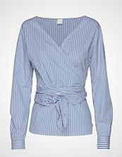 Boss Casual Wear Eura_1 Bluse Langermet Blå BOSS CASUAL WEAR
