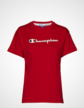Champion Rochester Crewneck T-Shirt T-shirts & Tops Short-sleeved Rød CHAMPION ROCHESTER