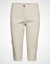 Brandtex Capri Pants Skinny Jeans Creme BRANDTEX