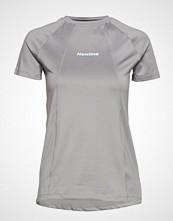Newline Black Tech Tee T-shirts & Tops Short-sleeved Grå NEWLINE