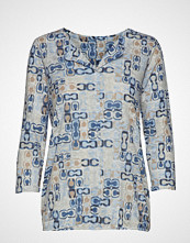 Gerry Weber Edition T-Shirt 3/4-Sleeve R T-shirts & Tops Long-sleeved Blå GERRY WEBER EDITION