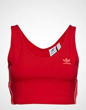 Adidas Originals Crop Tank T-shirts & Tops Sleeveless Rød ADIDAS ORIGINALS