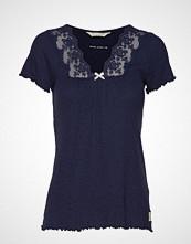 Odd Molly Secret Break Top T-shirts & Tops Short-sleeved Blå ODD MOLLY