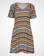 Masai Gigi Tunic Knelang Kjole Multi/mønstret MASAI