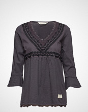 Odd Molly Lace Vibration Blouse Bluse Langermet Lilla ODD MOLLY