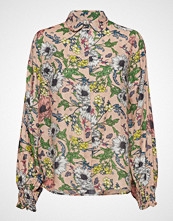 Underprotection Melina Shirt Bluse Langermet Multi/mønstret UNDERPROTECTION