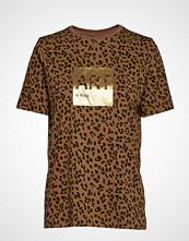 Boss Casual Wear Tewindow T-shirts & Tops Short-sleeved Brun BOSS CASUAL WEAR
