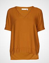 InWear Blakeiw V Top T-shirts & Tops Short-sleeved Gul INWEAR