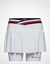 Tommy Sport Skirt With Inner Sho Kort Skjørt Hvit TOMMY SPORT