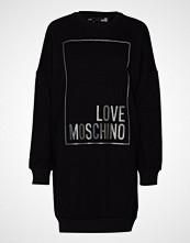 Love Moschino W5a4802m4068 Kort Kjole Svart LOVE MOSCHINO