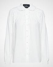 DESIGNERS, REMIX Dane Insert Shirt Langermet Skjorte Hvit DESIGNERS, REMIX