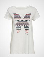 Edc by Esprit T-Shirts T-shirts & Tops Short-sleeved Hvit EDC BY ESPRIT