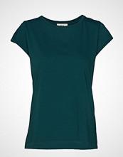 Mads Nørgaard Jersey Dip Teasy T-shirts & Tops Short-sleeved Grønn MADS NØRGAARD
