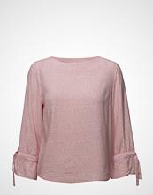 Gant Op2. Confetti Bow Blouse Bluse Langermet Rosa GANT