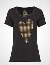 Mos Mosh Nikki Tee Ss T-shirts & Tops Short-sleeved Svart MOS MOSH