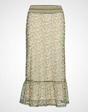 Yas Yasboa Mw Mesh Skirt Boozt D2d Langt Skjørt Multi/mønstret YAS