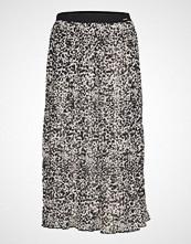 Superdry Pleated Midi Skirt Knelangt Skjørt Multi/mønstret SUPERDRY
