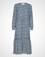 Lollys Laundry Anastacia Dress Knelang Kjole Blå LOLLYS LAUNDRY