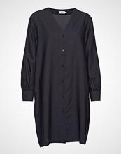 Filippa K Isobel Shirt Dress Knelang Kjole Blå FILIPPA K