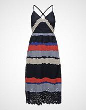 Tommy Hilfiger Oc Helena Dress Ns Knelang Kjole Multi/mønstret TOMMY HILFIGER