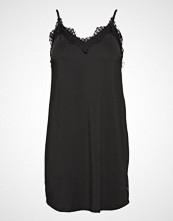 Coster Copenhagen Strap Dress W. Lace Kort Kjole Svart COSTER COPENHAGEN
