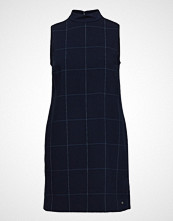 Tommy Hilfiger Berber Mini Dress Kort Kjole Blå TOMMY HILFIGER