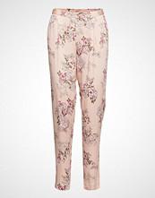 Rosemunde Trousers Bukser Med Rette Ben Rosa ROSEMUNDE