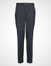 Esprit Collection Pants Woven Bukser Med Rette Ben Blå ESPRIT COLLECTION