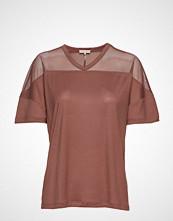 Filippa K Soft Sport Tencel Mesh Tee T-shirts & Tops Short-sleeved Rosa FILIPPA K SOFT SPORT