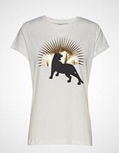Munthe Kid T-shirts & Tops Short-sleeved Hvit MUNTHE