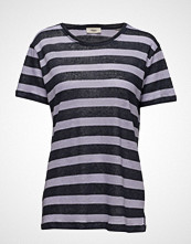 Stig P Viola T-shirts & Tops Short-sleeved Blå STIG P