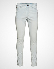 Cheap Monday Tight Off Blue Slim Jeans Hvit CHEAP MONDAY