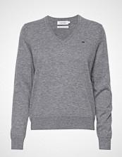 Calvin Klein Lambswool Sweater Strikket Genser Grå CALVIN KLEIN
