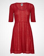 M Missoni M Missoni-Dress Knelang Kjole Rød M MISSONI