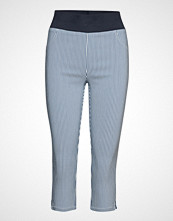 FREE/QUENT Shantal-Ca-Stripe Stramme Bukser Stoffbukser Blå FREE/QUENT