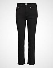 Totême Straight Denim Slim Jeans Svart TOTÊME