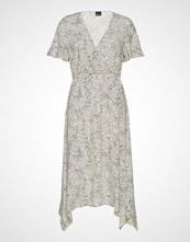 Gina Tricot Satina Dress Knelang Kjole Hvit GINA TRICOT