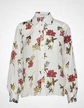 Twist & Tango Isolde Shirt White Botanical Bluse Langermet Creme TWIST & TANGO