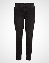 GAP Fav Jegging Ankle Worn Blk Rh Skinny Jeans Svart GAP