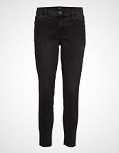 GAP Fav Jegging Ankle Worn Blk Rh Skinny Jeans Svart GAP