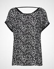 Esprit Casual T-Shirts T-shirts & Tops Short-sleeved Svart ESPRIT CASUAL