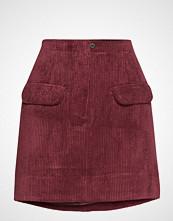 Second Female Boyas Mw Short Skirt Kort Skjørt Rød SECOND FEMALE