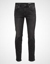 Selected Homme Shnslim-Leon 1005 Grey St Jns W Noos Slim Jeans Grå SELECTED HOMME