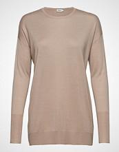Filippa K Silky Fine Knit Sweater Strikket Genser Beige FILIPPA K