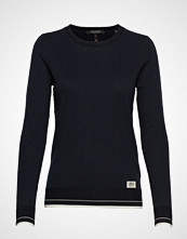 Scotch & Soda Basic Crewneck Pullover Strikket Genser Svart SCOTCH & SODA