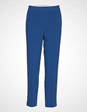 Soaked in Luxury Sl Hayley Pants Bukser Med Rette Ben Blå SOAKED IN LUXURY