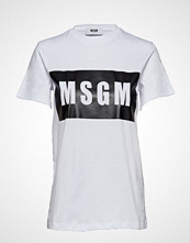 MSGM T-Shirt T-shirts & Tops Short-sleeved Hvit MSGM